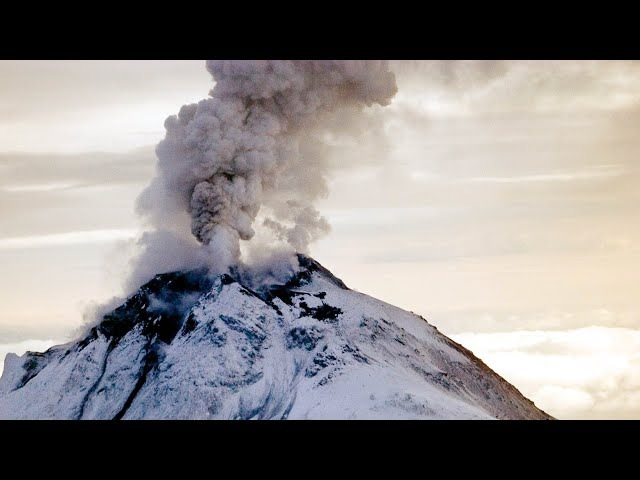 Listen to the rumblings of volcanic thunder – audio
