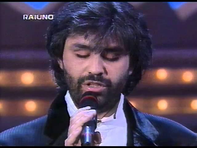 Sanremo 95 - Con te partirò - Andrea Bocelli