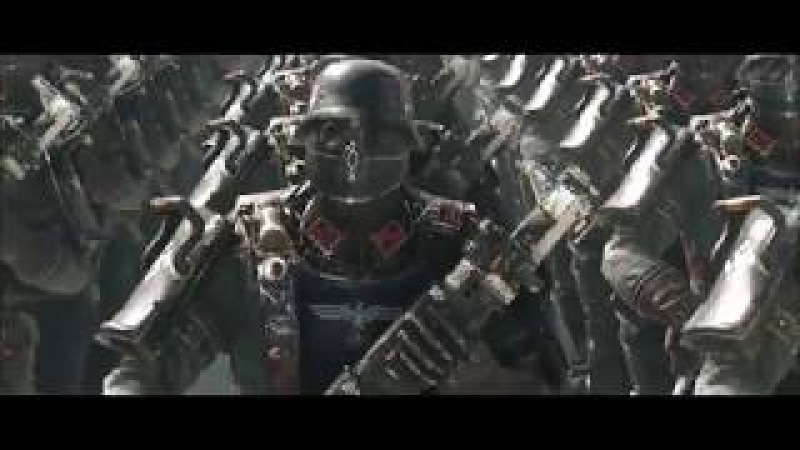 Wolfenstein II The New Colossus SS march 5 minute loop (1080p 60fps)