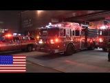 NEW YORK CITY ALL OUT! FDNY Midtown Firehouse go on a run!