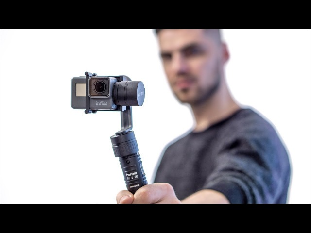 GoPro Gimbal UNDER 200$ the Hohem HG5 Pro
