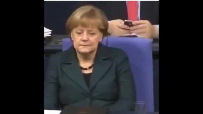 Сара Вагенкнехт - рубит правду об Украине! Разносит в хлам Меркель!Бунденстаг взорвало!