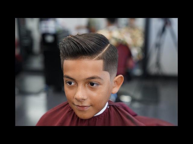 Barber Tutorial THE COMB OVER! drop fade