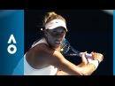 Madison Keys v Caroline Garcia match highlights (4R) | Australian Open 2018