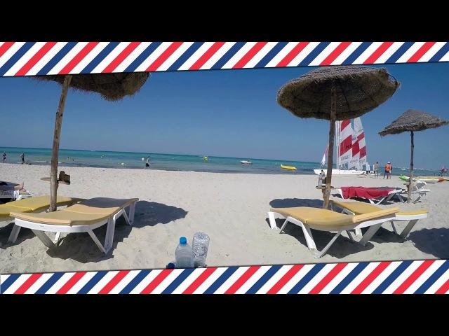 Остров Джерба Тунис: пляж