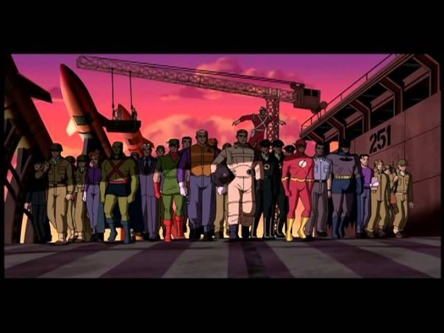 Justice League: The New Frontier / Лига Справедливости: Новый барьер (2008) трейлер