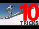 10 Snowboard Tricks Recap Tips