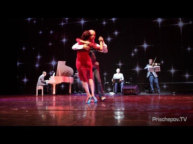 Horacio Pebete Godoy Cecilia Berra, Tango en Vivo orq., Russia, Moscow, PLANETANGO-XX 2018