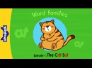 Word Families 1 | The Cat Sat | Phonics | Little Fox | Animated Stories for Kids