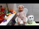 Эми КАК МАМА - Готовит Кушать для Куклы Беби Бон и Собачки Гиджет