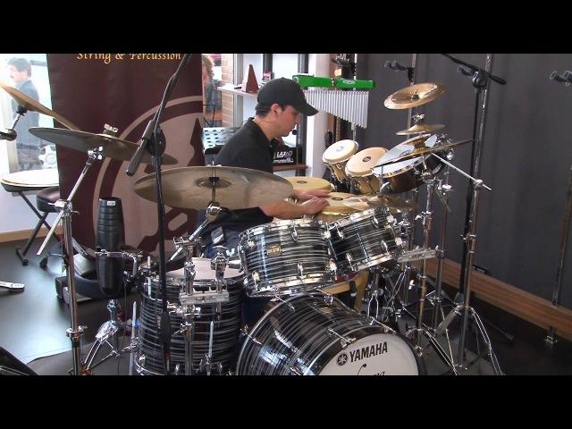 5.YOEL PAEZ Master Class Yamaha Club Custom