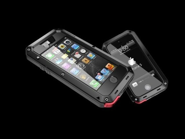 Lunatik TAKTIK EXTREME and STRIKE Cases for iPhone 5