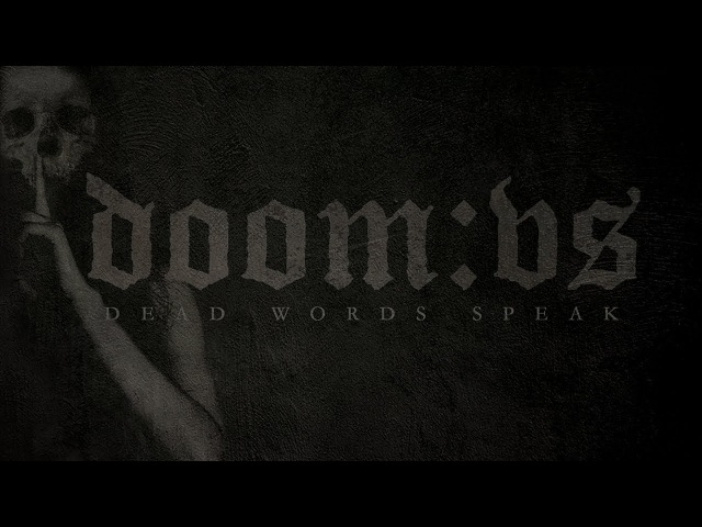 DOOM:VS - Dead Words Speak (2008) Full Album Official (Death Doom Metal)