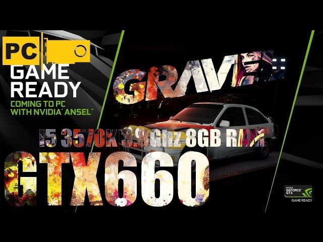 Запуск Ралли Gravel на среднем пк i5 3570k, GTX660, 8GB RAM