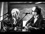Lucinda Williams and Elvis Costello - Wild Horses (live)
