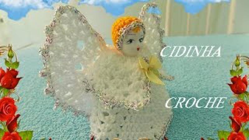 Croche- Anjo- Passo A Passo -Parte 1