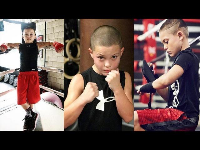 10 - летний ВУНДЕРКИНД БОКСА - Javon Walton 10 - ktnybq deylthrbyl ,jrcf - javon walton