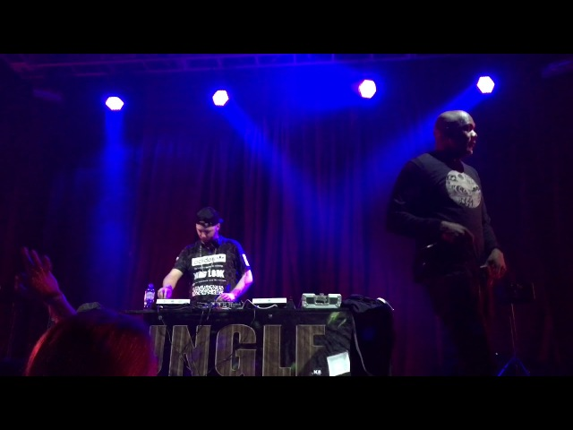MC Spyda and DJ Slipz - Jungle Planet Moscow 17.03.2018