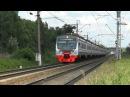 Электропоезд ЭД4М-0479 ЦППК перегон Голицыно - Петелино