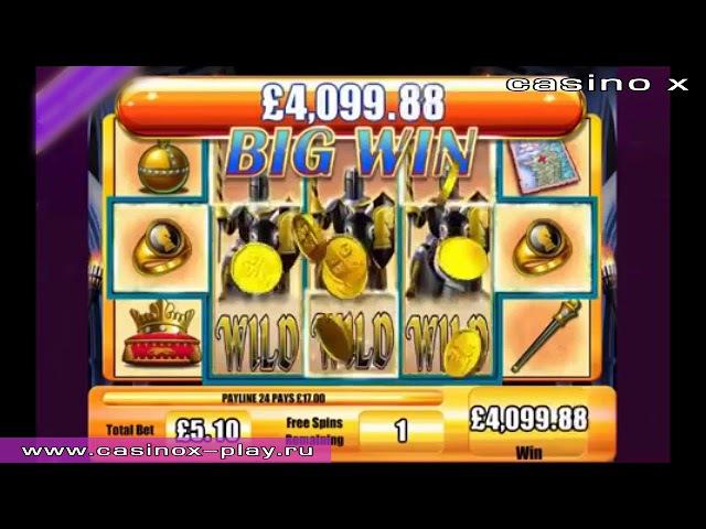 Джекпот в Casino X - играй и выигрывай в лучшем казино
