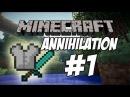 Annhilation на mine-play 1 Тащим с кланом