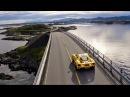 Ford GT на Атлантической дороге в Норвегии и трассе Полярный Круг Ford Russia 2017