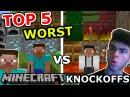 TOP 5 WORST MINECRAFT KNOCKOFFS