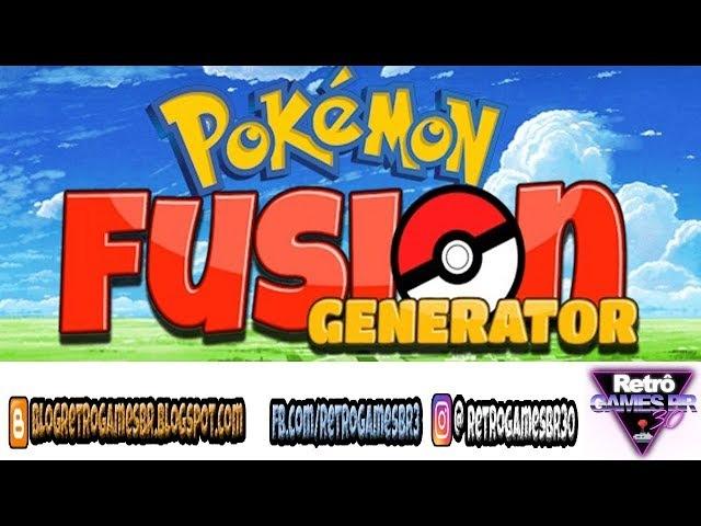 Pokémon Fusion Generator - Fusões Bizarras!
