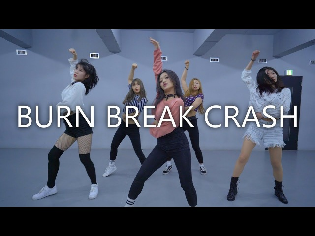 Aanysa x Snakehips Burn Break Crash NARIA choreography Prepix Dance Studio