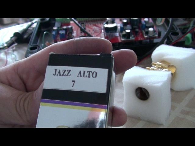 Обзор китайского дешевого мундштука для альт саксофона.