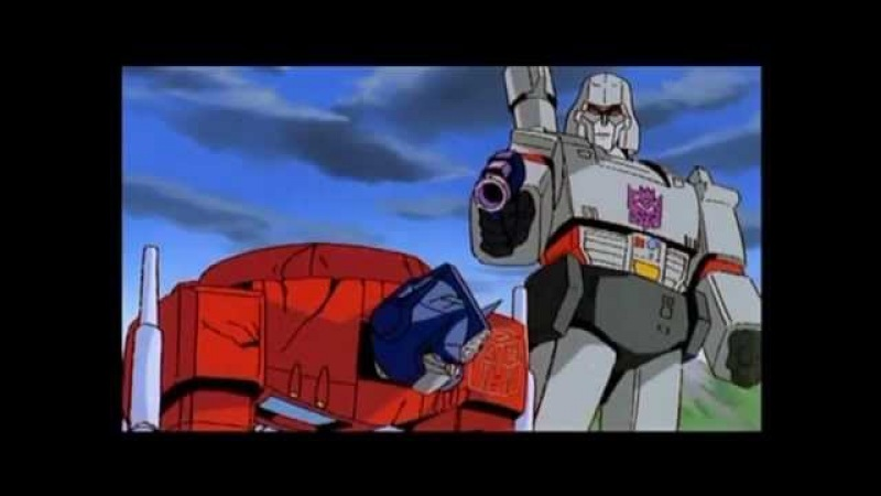 Transformers The Movie 1986 Optimus Prime VS Megatron(Fan dub).