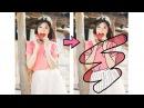 【PicsArt】Hướng dẫn VẼ VIỀN và TÔ MÀU hoạt hình cute | PicsArt Editing ❤️