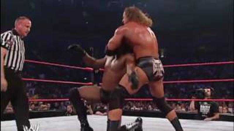 The Undertaker The Rock Booker T Goldust Vs HHH The Un Americans 2 2