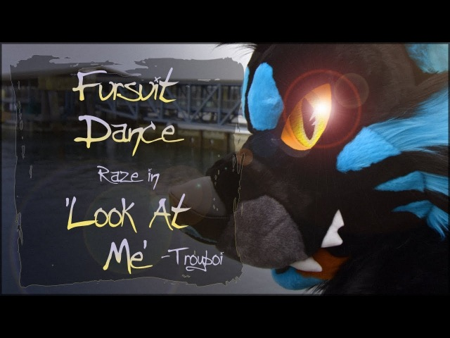 Fursuit Dance - Raze in Look at Me by Troyboi