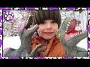 ПРО Динозавров СПИНОЗАВР РЕКС БРАХИОЗАВР About DINOSAURS Spinosaurus, T Rex, Brachiosaurus