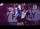160318 EXO'luXion dot FULL MOON KAI SEHUN 팬들이랑 노래 함께 하는 종인이랑 지나가던 세훈이 불러서 같이 무대 즐기는 구사즈♡