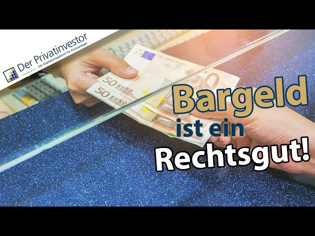 Negativbeispiel Schweden: Die Bargeldabschaffung bedroht Bürgerrechte. Vortrag von Prof. Max Otte.