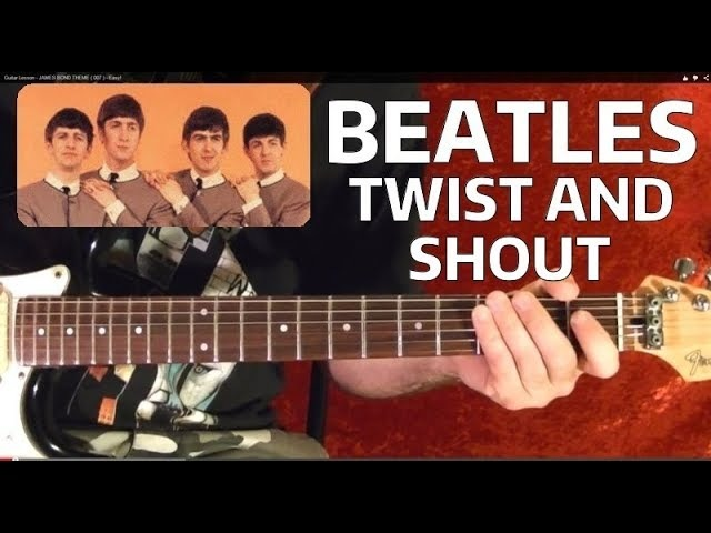 Twist and Shout by THE BEATLES - Guitar Lesson ♪ ♫ ♪ ♫