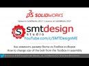 Уроки по SolidWorks 2017 - Как изменить размер болта из Toolbox в сборке