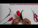 [Tulip Giấy Nhún] Cách làm hoa Tulip Giấy Nhún bằng giấy nhún _ Made by Saphia