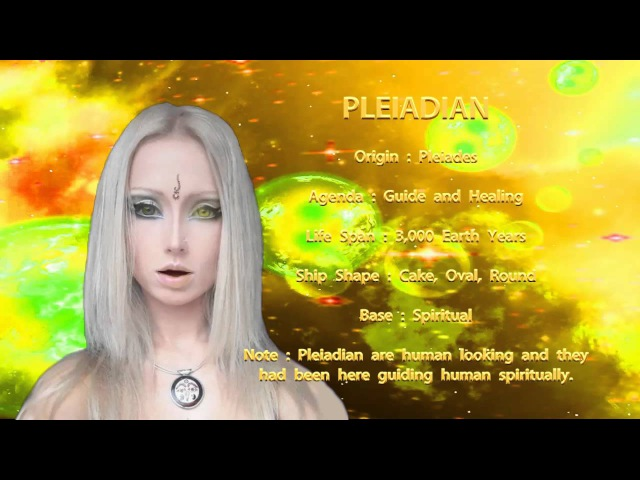 THE STAR RACES - PLEIADIAN
