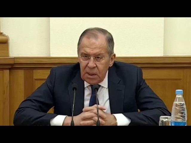 Вести Ru Лавров рассказал кому выгоден скандал с покушением на Скрипаля