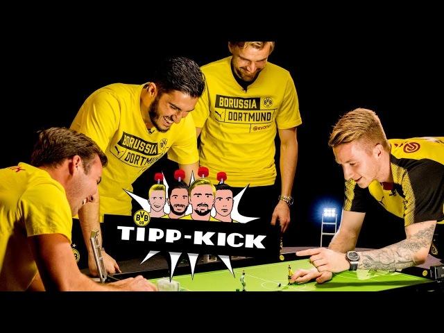 Mario Götze vs. Marco Reus |BVB Tipp-Kick Challenge | 🏆 | Semi Final 1