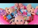 Куклы Пупсики Беби Элайв Открывают Сюрпризы Маша и Медведь Пупсы Зырики ТВ Игрушки Детский канал