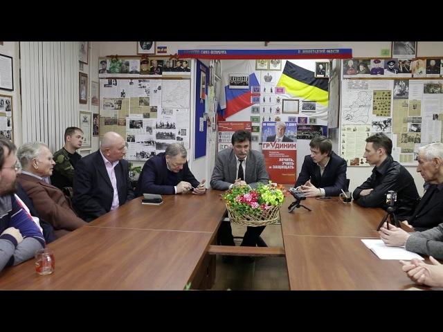 Ответ Юрия Болдырева на вопрос о блокадниках, проживших в осажденном городе менее 4 месяцев