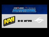 Na'Vi vs Secret #2 (bo3)  SL i-league S3, 14.10.2017