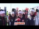 Dorin Beaucoup de bonheur beaucoup de soulagement Biathlon CM F