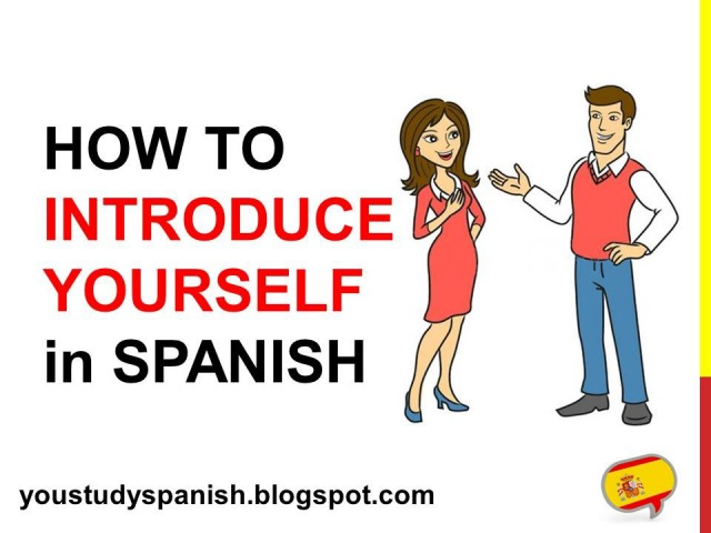 Spanish Lesson 5 - How to INTRODUCE YOURSELF in Spanish Formal Informal Cómo te llamas Cómo se llama