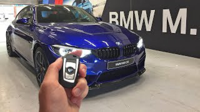 The NEW 2017 BMW M4 CS - Engine Start Up, Revs, Overview