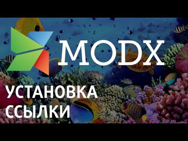Как правильно разместить ссылку на Modx «Ядвига:Стартовый пакет»